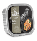PATÊ THREE DOGS LIGHT – SABOR FRANGO