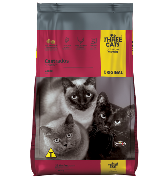 ORIGINAL CATS STERILISED - MEAT