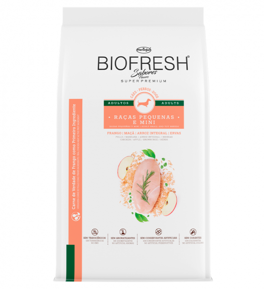 BIOFRESH FOR DOGS ADULTS SMALL AND TOY BREED DOGS - CHICKEN